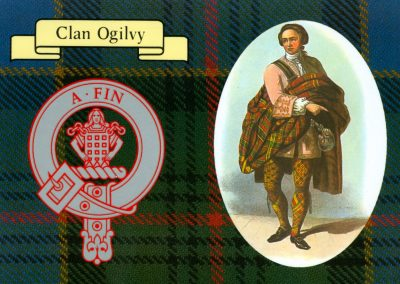 Ogilvie Clan card